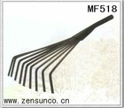9Teeth steel garden claw rake