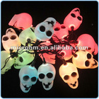 LED Flashing Skull Heads String Lights for Halloween, Halloween Indoor Decoration