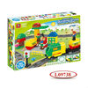 Electronic Slot Fuel Truck Toy Block With Music L09738