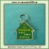 Plastic Promotional House Key Chain (full color printing)