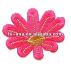 size:6.5x6.5cm.garmet's embroidery patches with stick on base supplier