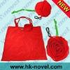190T polyester promotional rose bag