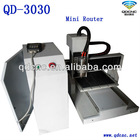 mini desktop cnc 3d router price from China QD-3030