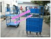 China cheap Industry Foldable Metal Trolley / Handcart