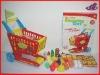 Cartoon Plastic Handy Folding Shopping Cart for kids