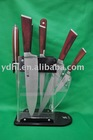fine edge forge handle cutlery knife set