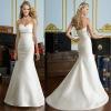 MODERN STYLE SWEETHEART MERMAIDS SATIN WEDDING DRESS BEST-1145