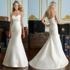 MODERN STYLE SWEETHEART MERMAIDS SATIN WEDDING DRESS BEST-1145