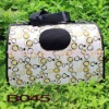 B045 Oxford Waterproof Material Colorful S M L Dog Bag Dog Carrier Pet Products MOQ is 1000pcs/item 1pc/opp bag Drop Shipping