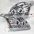 For TOYOTA Prado FJ120 LED Headlight Angel Eyes 2003 V3 Type