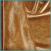 Spandex/polyester tricot velvet fabric material