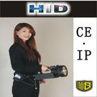 Portable HID xenon flashlight