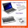 "Aluminum Keyboard Case for Samsung galaxy 10.1"""