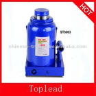 50 Ton hydraulic portable blue car bottle jack