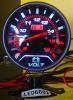 Extra-Thin LED Auto Voltage Gauge