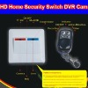 2.0 Mega HD Wireless Remote Control Home Security Switch Camcorder