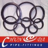 Concrete pump sealing rings without lip
