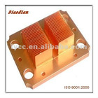 copper heat sink with strip fin for graphics card