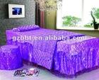 2012 queen size beauty salon lace luxury duvet cver set