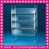 Acrylic floor book shelf