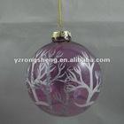 christmas glass hanging ball