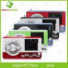 Chic Design Mini Mp3 Music Player With Radio Antenna