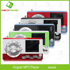 Chic Design Mini Mp3 Music Player With Radio Antenna