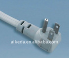 American standard power cord electrical plug with connector YY-3B