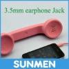 Anti-radiation retro phone handset for Samsung