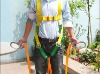 With double buffer safety hook fall protection full boy safety belt