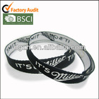 woven polyester wristbands