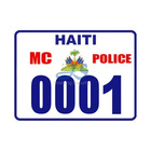 motorcycle reflective number sticker