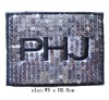 Customized Embroidery Sequin Patches