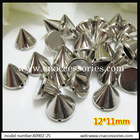 sew on plastic cone spike,bulk sale