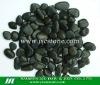 Black pebble stone