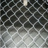 Galvanized chain link fence mesh