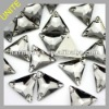 Wholesale Triangle Sew-on Rhinestone for clothing Black Diamond U3270