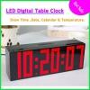 2012 Hot sale Red Led Digital Alarm Wall Clock