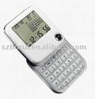 Multifunctional gift rotatable calculator