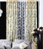 Modern style printed curtain