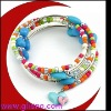 Charm wood bead Bracelet for kids GBR21206C
