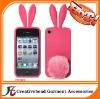 rabbit ear silicone mobile phone case