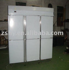 Six door Stainless Steel Commercial Refrigerator