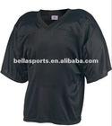 OEM Service Fashion 100% Polyester Nylon Tricot Mesh Lacrosse Jersey