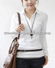 Breathable women polo shirt