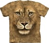 big size men's new design 3D animal printing round neck t-shirt