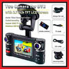 GPS Camera With Remote Control Dual Lens Car Driving Video Recorder