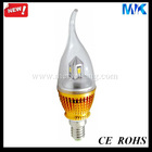 E27 5630SMD candle light 4w enclosure