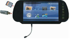 CST-701H 7inch rearview mirror monitor with bluetooth
