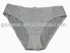 ladies'cotton panty hipster lace tc